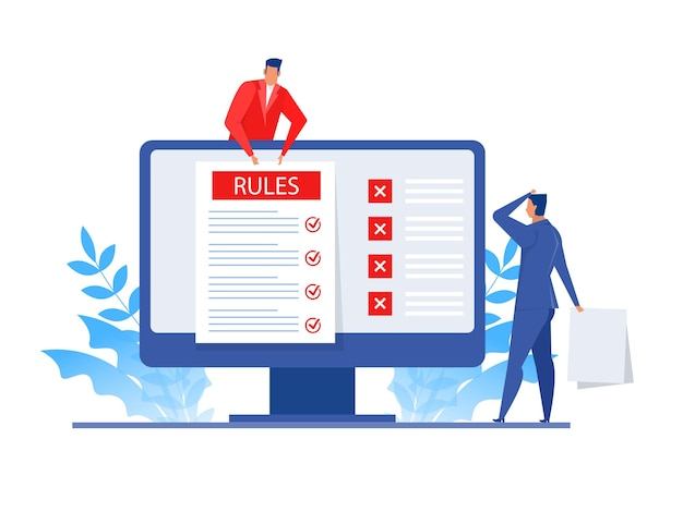 Презентация бизнесмена о правилах