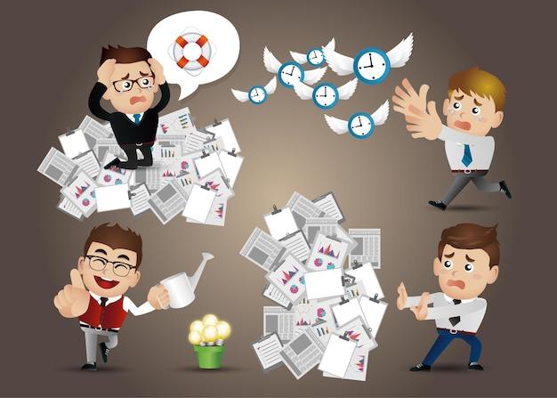 Набор бизнесменов