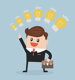 Предприниматель с разной идеей