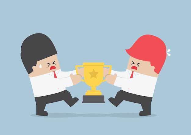 Предприниматели борются за трофей