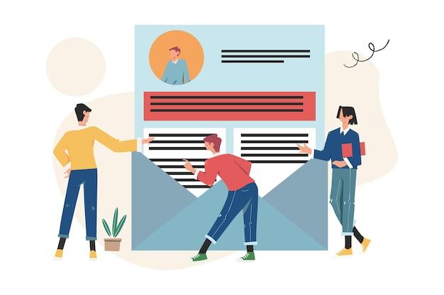 기업인 검토 이력서, 온라인 협업 회의