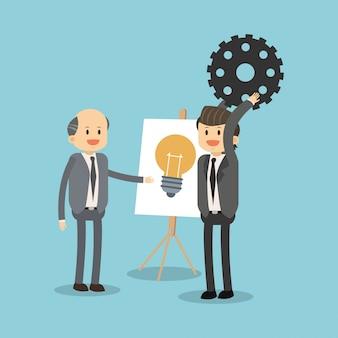 Предприниматели, работающие на идеи
