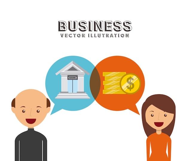 ビジネスマングループデザイン、ベクトルイラストeps10グラフィック