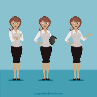 Businesswoman illustration