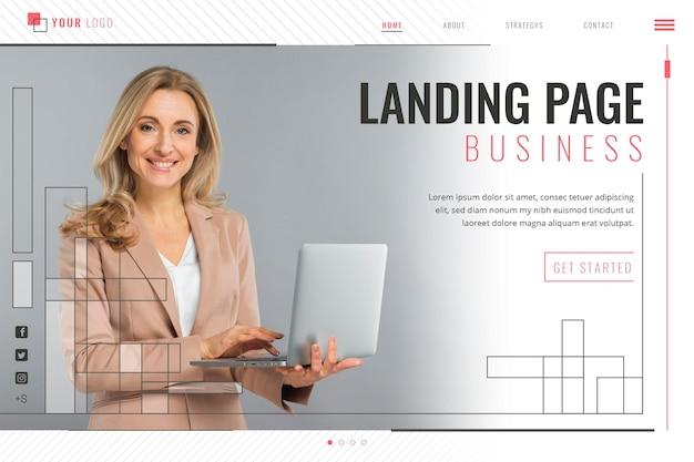 実業家ランディングページ