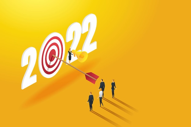Лидер бизнес-леди объявила, что возглавит успешную команду для достижения целей 2022 года