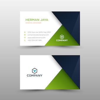 Bussines card template