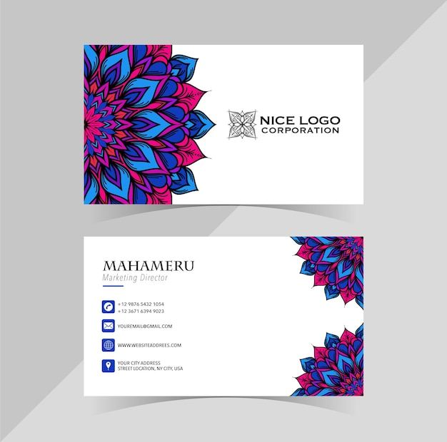 Bussiness card template