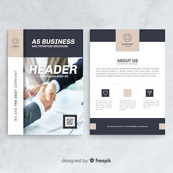 Bussiness flyer template