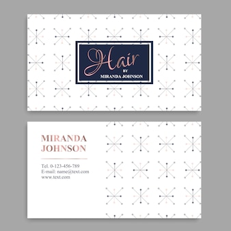 Bussiness modern name card background