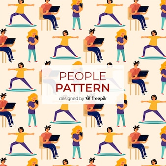Busy women pattern