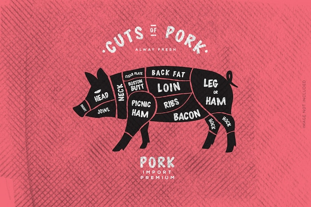 The butcher's guide, cut of beef