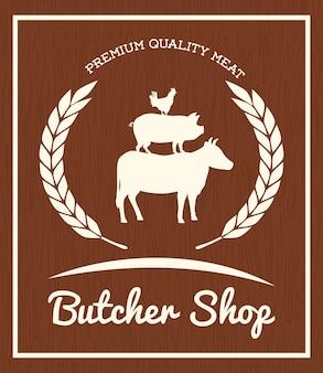 Butchery or butcher theme