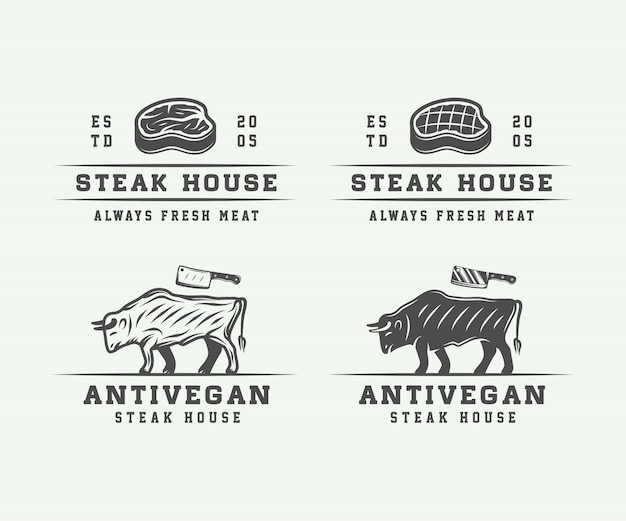 Butchery meat, steak or bbq
