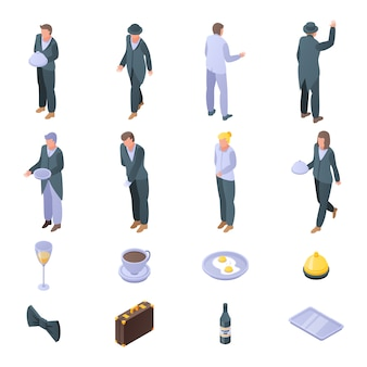 Butler icons set