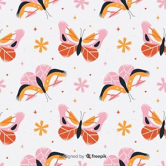 Sfondo di farfalle