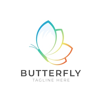 Butterfly beauty spa vector logo template, this logo symbolizes, some things beautiful, soft, calm, nature, metamorphosis, graceful, and elegant.