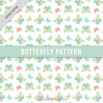 蝶装飾的なパターン