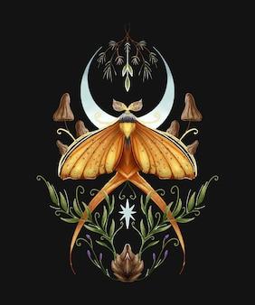 蝶のイラスト