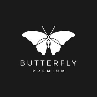 蝶のロゴイラスト