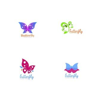 Логотип с логотипом бабочки