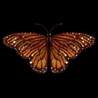 暗闇の中の蝶