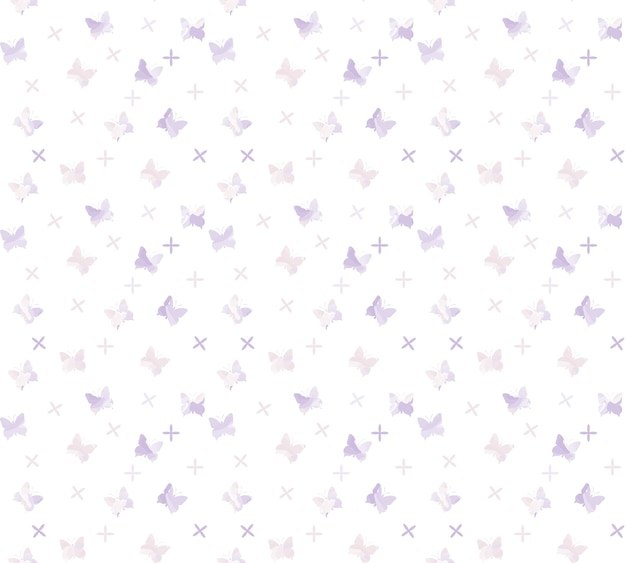 나비 패턴 배경