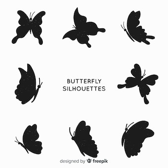 Butterfly silhouette pack