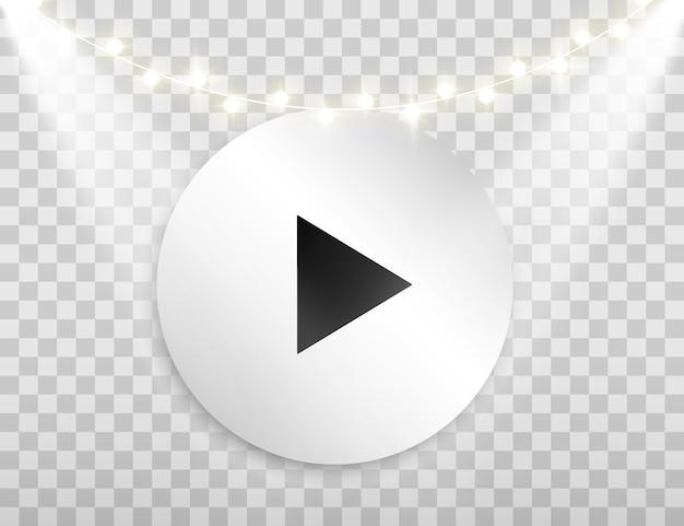 Кнопка. кнопка воспроизведения. проиграть видео.