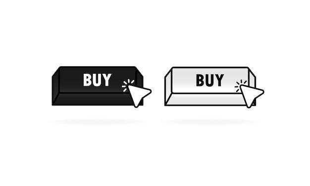 마우스 포인터로 구매 버튼.
