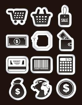 Покупать иконки на черном фоне