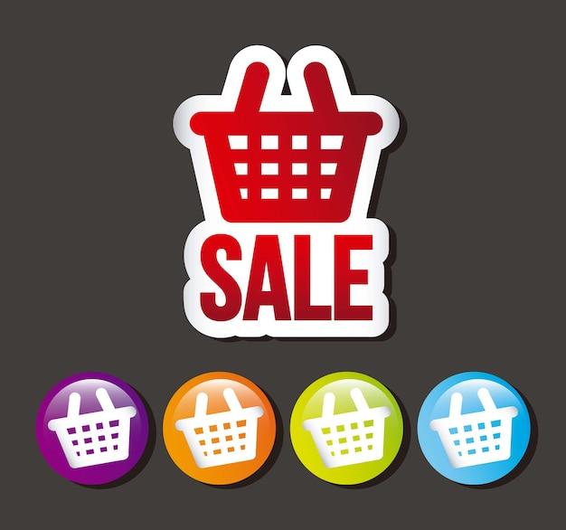 Покупать иконки на сером фоне векторных иллюстраций