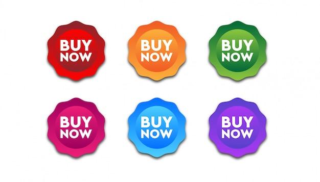 Buy now badge
