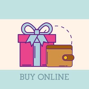 Купить онлайн-концепцию