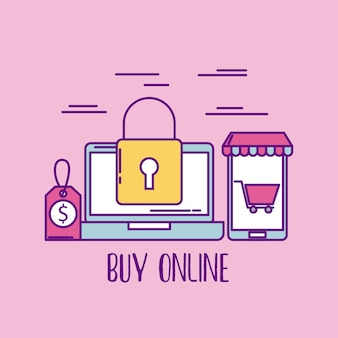 Buy online laptop security price shopping market business