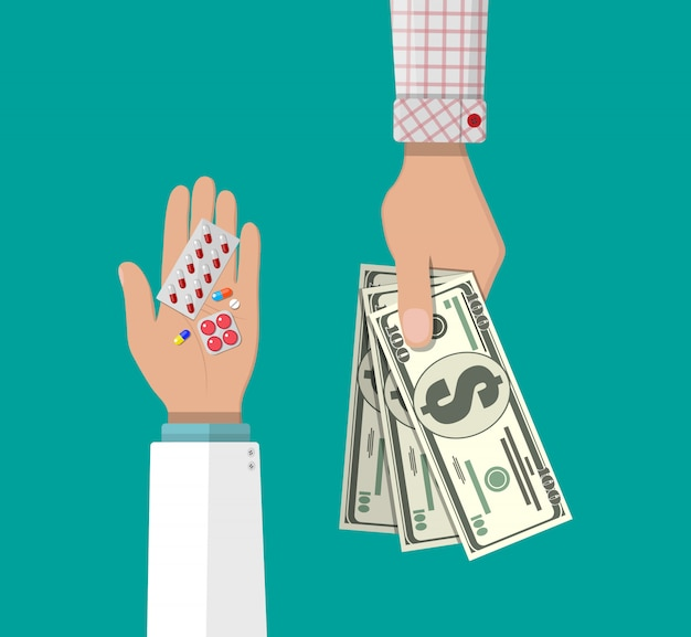 약물 구매 및 판매.