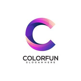 C logo colorful gradient