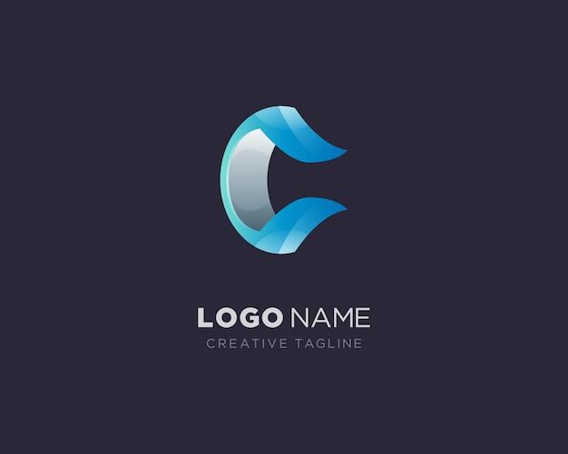 創造的な手紙cロゴ