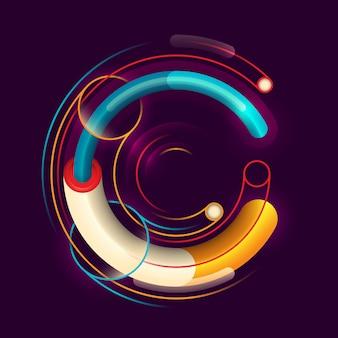 C буква дизайн