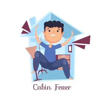 Cabin fever theme