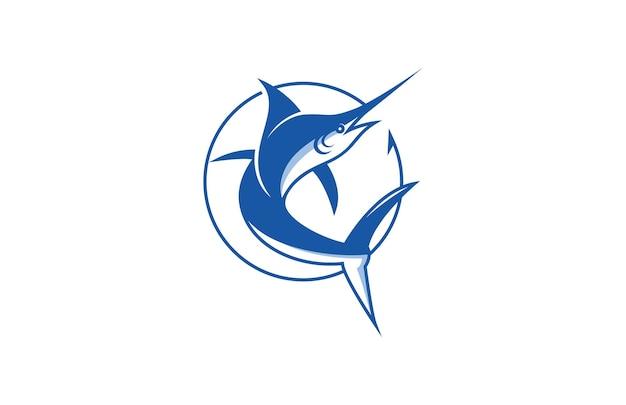 Cacth sword fish logo