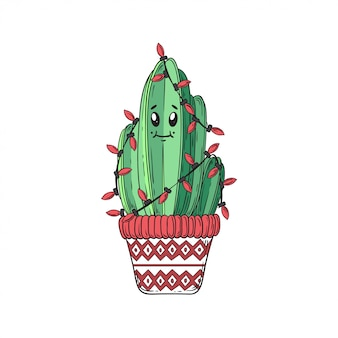 Cactus new year.