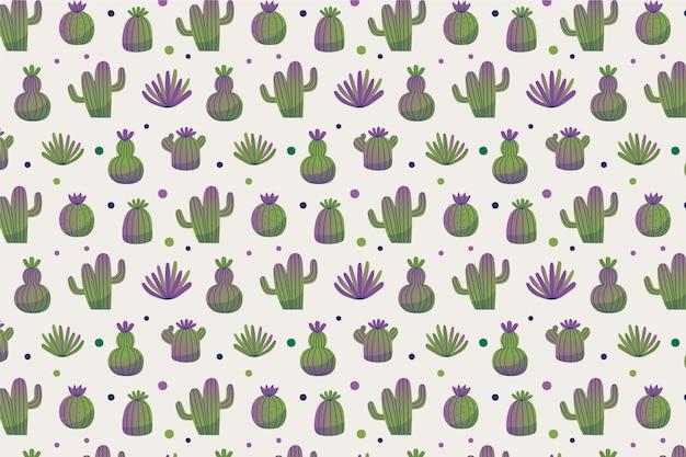 Concetto di raccolta del modello di cactus