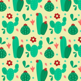 Cactus pattern collection design