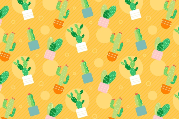 Cactus pattern collection