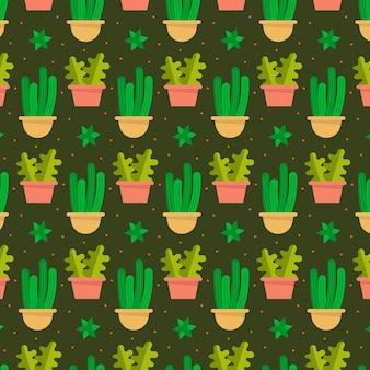 Cactus pattern concept