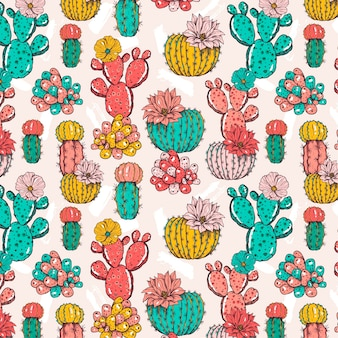 Cactus pattern concept