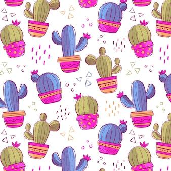 Pacchetto modello cactus