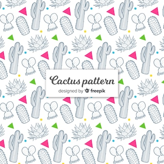 선인장 패턴