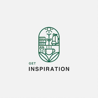 Cafe inspiration logo